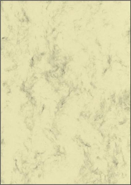 Sigel® DP372 Marmor-Papier, beige, A4, 90 g/qm, 100 Blatt