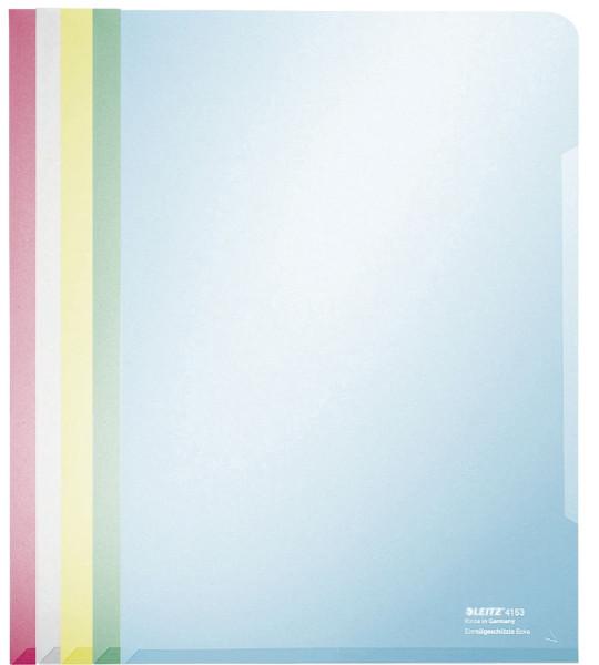 Leitz 4153 Sichthülle Super Premium, A4, PVC, dokumentenecht, sortiert