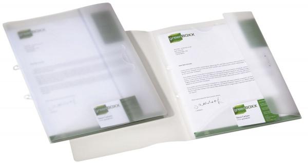 Angebotsmappe MULTIFILE, PP, DIN A4, 225 x 335 mm, transparent