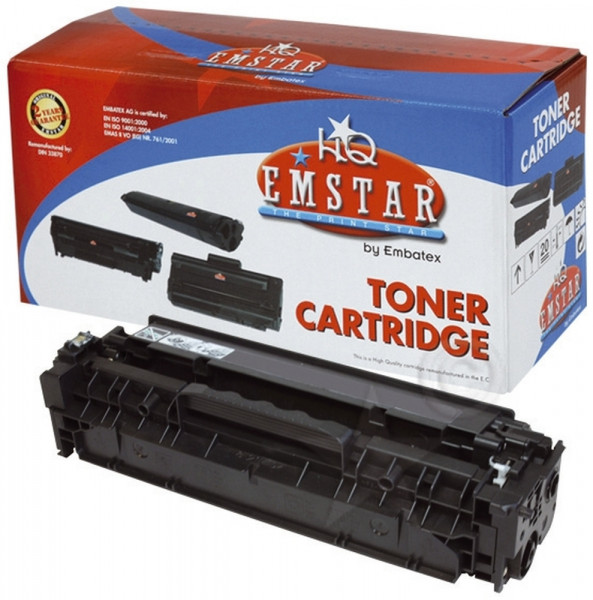 EMSTAR CE410X Toner schwarz, 4.000 Seiten (ersetzt Toner HP CE410X 305X) H770