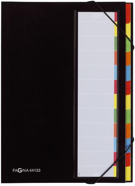 Pagna® Deskorganizer mit 12 Fächern, schwarz