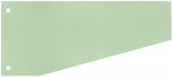 Trennstreifen Trapez - 190 g/qm Karton, grün, 100 Stück