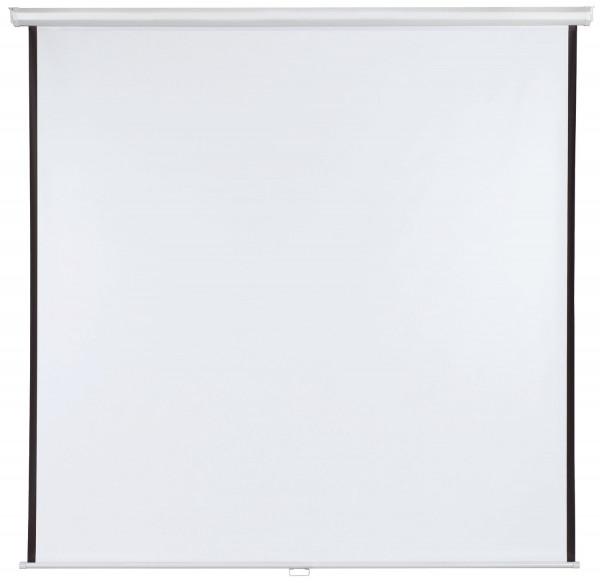 Rolloleinwand X-tra!Line® - 200 x 200 cm, manuell