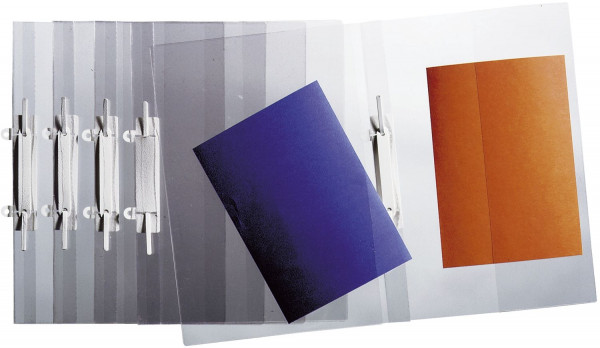 Durable 2512 Sichthefter A4 glasklar, Weichfolie, transparent