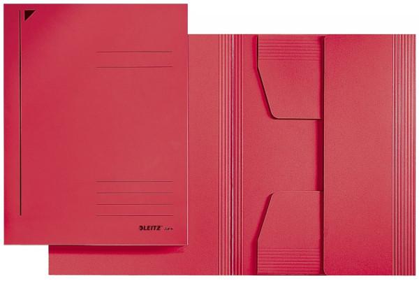3925 Jurismappe, A5, Colorspankarton 300g, rot