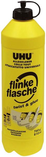 UHU® ALLESKLEBER flinke flasche Nachfüllflasche, Flasche mit 760 g
