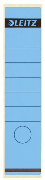 1640 Rückenschilder - Papier, lang/breit, 10 Stück, blau