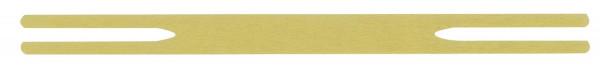 Zubehör Kanzleihefter - Spezialklammer 165 mm, messing, 100 Stück