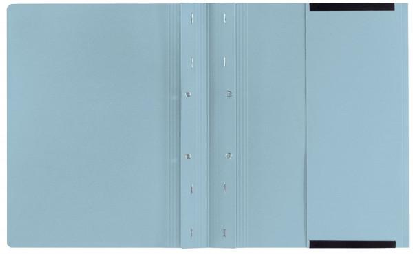 Kanzleihefter B ungefalzt - Rechtsheftung/Linksheftung, 1 Tasche, 2 Abheftvorrichtung, hellblau