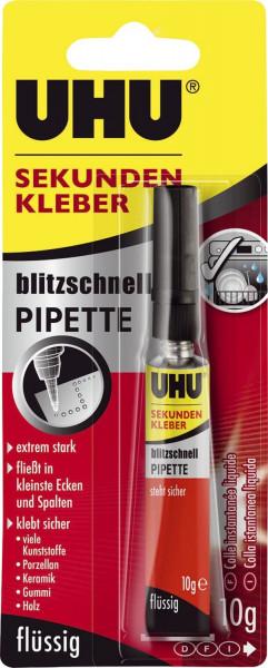 UHU® SEKUNDENKLEBER blitzschnell PIPETTE 10 g