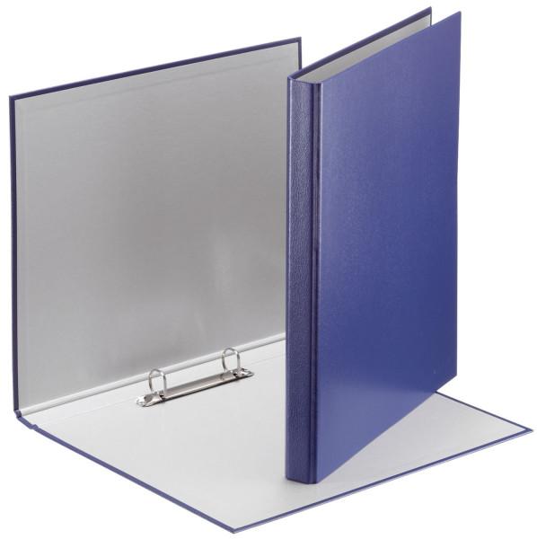 4209 Standard Ringbuch, 2 Ringe - A4, Ring-Ø 16 mm, blau