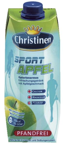 Christinen - Sport - Apfel 500ml