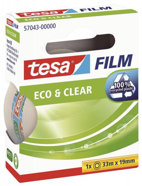 Tesa® 57043 Eco & Clear 19mm x 33m unsichtbar
