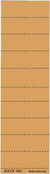 1901 Blanko-Schildchen 1901, Karton, 100 Stück, orange