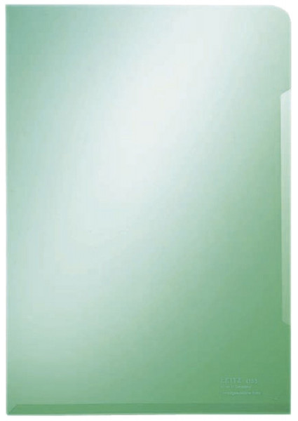 Leitz 4153 Sichthülle Super Premium, A4, PVC, dokumentenecht, grün