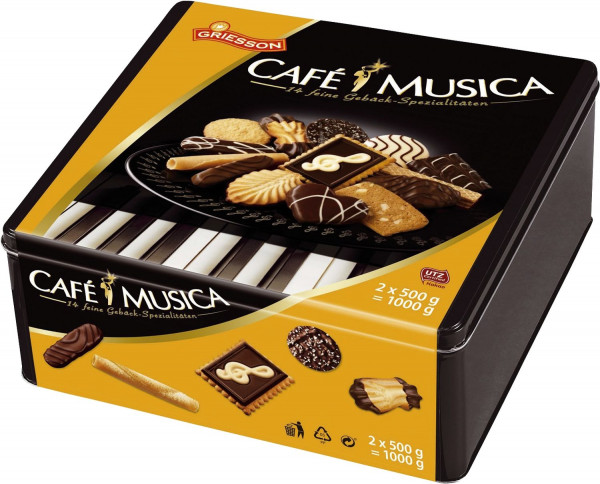 Cafe Musica - Metalldose, 2x à 500 g
