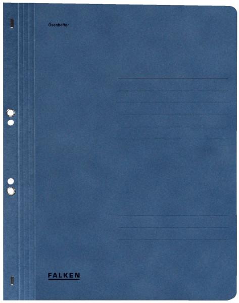 Falken Ösenhefter A4 ganzer Vorderdeckel, blau, Manilakarton, 250 g/qm