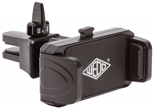 WEDO Smartphone-Halterung für KFZ-Lüftungsschlitze - mit 360°-Kugelgelenk