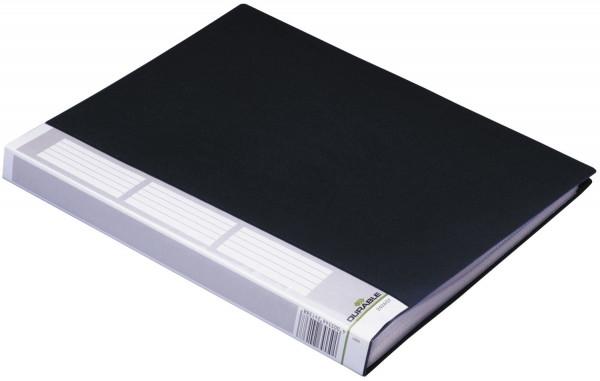 Sichtbuch DURALOOK® - A4, 50 Hüllen, 30 mm, schwarz