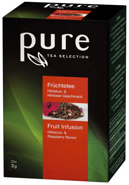 Tschibo Tea Selection - Früchtetee Hibiskus & Himbeere 25 Beutel