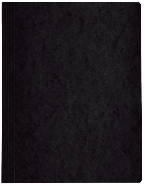 Spiralhefter Colorspankarton - für DIN A4, schwarz