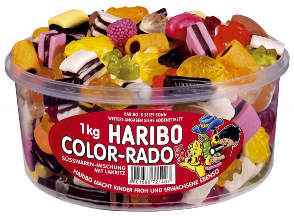 Fruchtgummi und Lakritzprodukte - Color Rado, 1000g