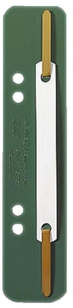 3710 Einhänge-Heftstreifen PP, kurz - grün, 25 Stück