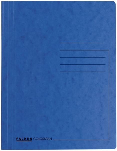Spiralhefter Colorspankarton - für DIN A4, blau