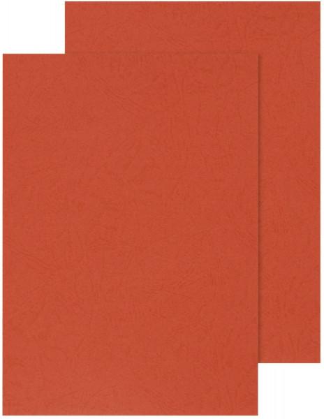 Kartondeckel, 250g/qm, rot, 100 Stück