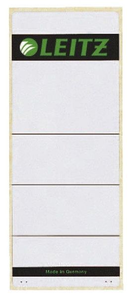 1647 Rückenschilder - breit/extra kurz, 61 x 157 mm, hellgrau