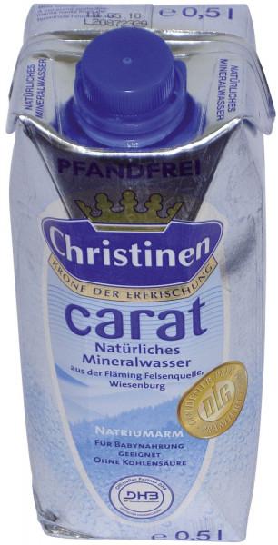 Christinen Mineralwasser CARAT 500ml