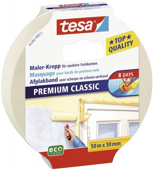 Papier-Klebeband Maler-Krepp Classic, 50 m x 30 mm, beige
