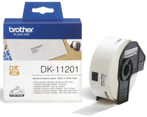 DK-Einzeletiketten Papier-Etiketten 400 Adress-Etiketten 29x90 mm
