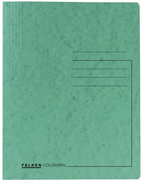 Falken Schnellhefter Colorspankarton DIN A4, dunkelgrün