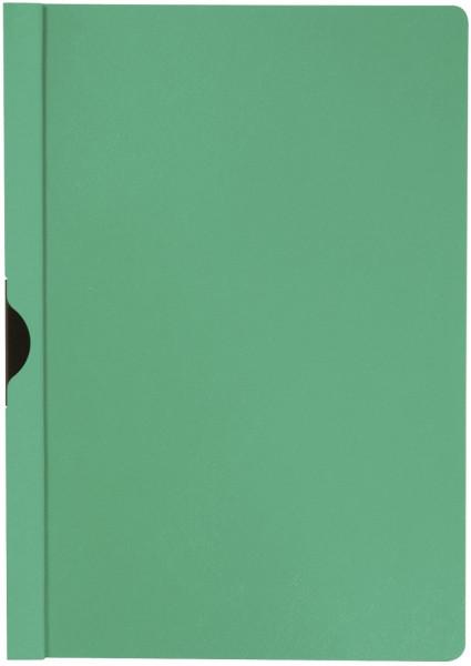 Q-Connect Klemm Mappen grün, Fassungsvermögen bis 30 Blatt