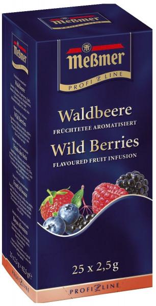 Meßmer Tee-Spezialitäten - Früchtetee Waldbeere 25 Teebeutel