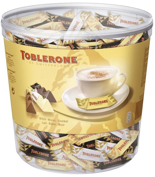 Toblerone Mini Mix, Klarsichtdose 900 g