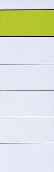 Ordner-Rückenschilder zum Einstecken - breit/kurz, 10 Stück