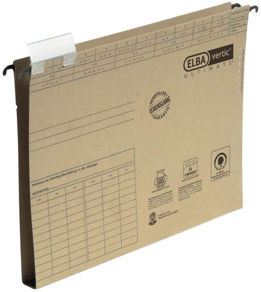 Hängesammler vertic® ULTIMATE®, A4 Hartpappe, Bodenbreite 20 mm