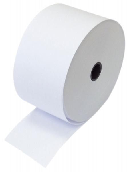 Additions und Kassenrollen, 2-fach, weiß/weiß, 76x58x12 mm, 20 m Inhalt 5 Rollen