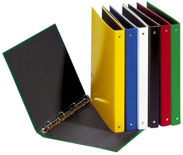 Ringbuch Basic Colours - A4, 4-Ring, Ring-Ø 25mm, weiß