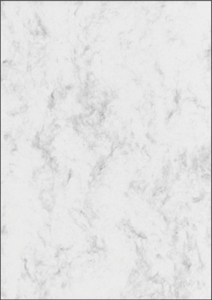 Marmor-Papier, grau, A4, 200 g/qm, 50 Blatt