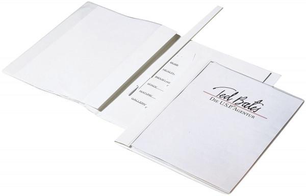Durable 2589 Angebotshefterweiß DURAPLUS® DE LUXE, strapazierfähige Folie, A4