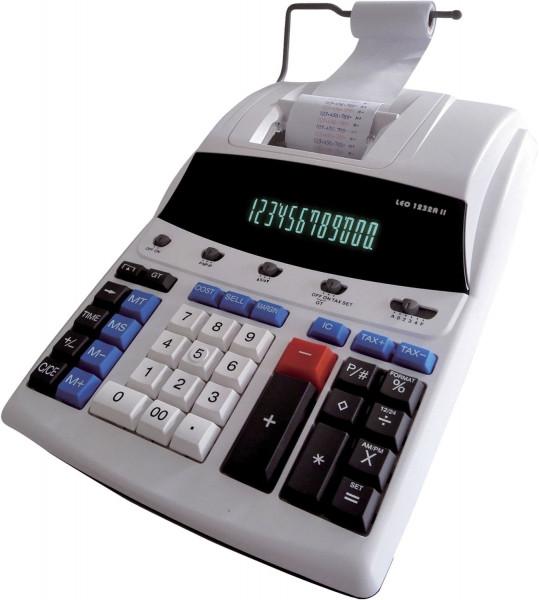 LEO® 1232A II druckender Tischrechner