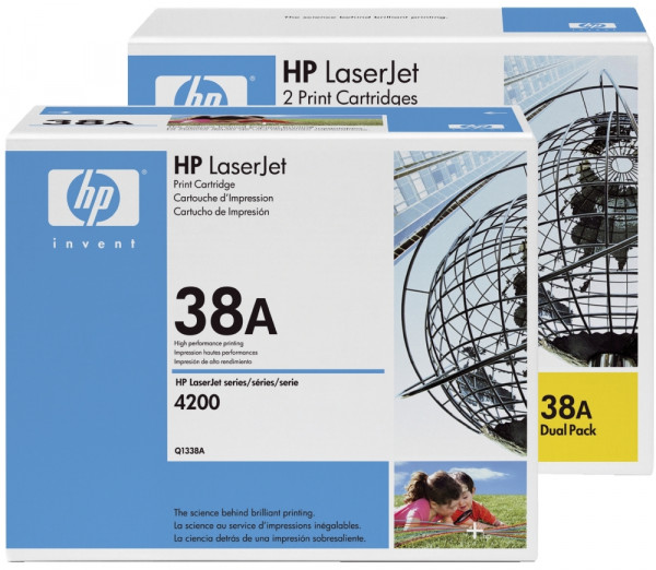 HP® Q1338A Druckkassetten schwarz, 12.000 Seiten,