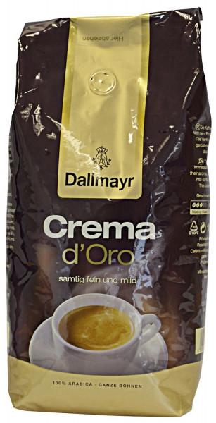 DALLMAYR Kaffee Crema d´Oro - fein und Mild, 100% Arabica, 1.000 g