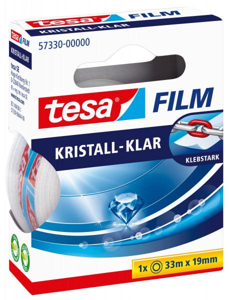Tesa® 57330 Klebefilm kristall-klar Bandgröße 33m x 19mm