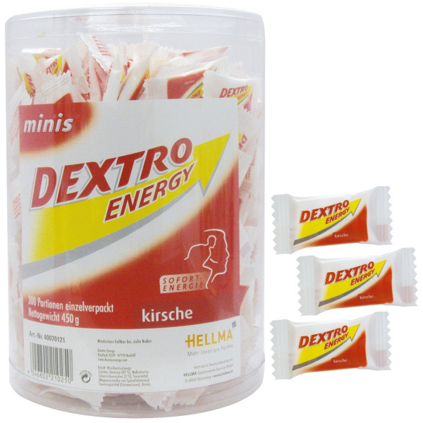 Dextro Energy Traubenzucker Energy Minis 300 Portionen