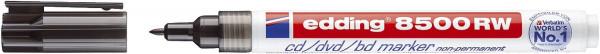 8500 RW CD-Marker für non-permanente Beschriftung, Strichstärke ca. 1 mm - schwarz