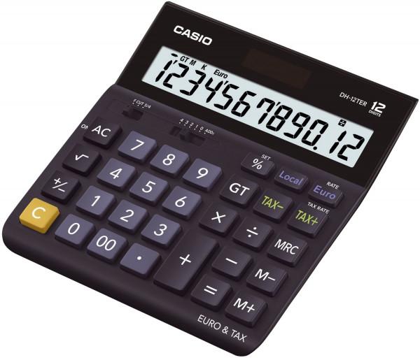 Casio® Solar Tischrechner DH12TER